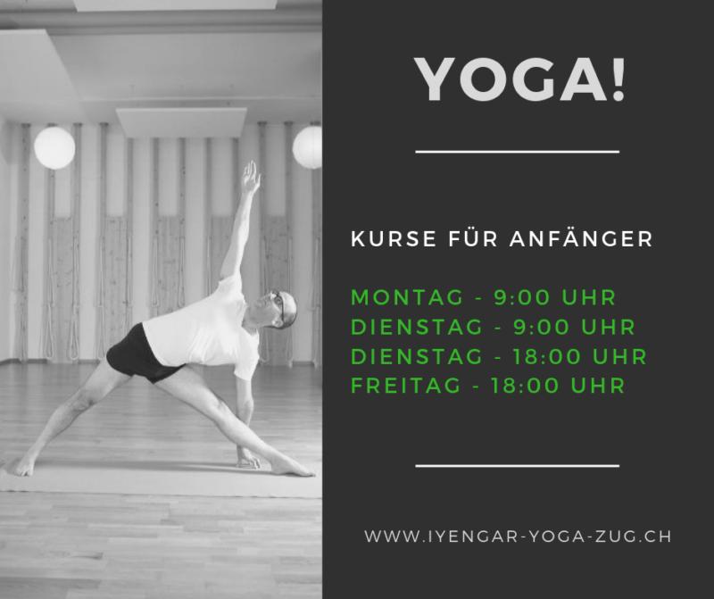 Yoga für Anfänger – ab Januar 2019