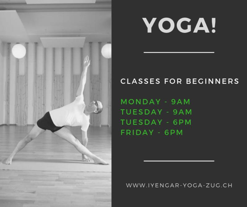 Yoga for beginners – starting January 2019